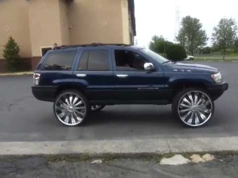 My Jeep Grand Grand Cherokee On 28 S Youtube