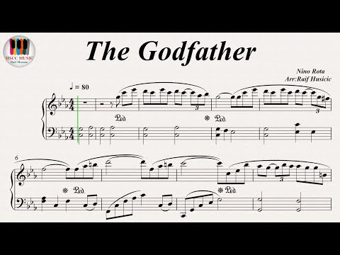 The Godfather (Speak Softly) - Nino Rota, Piano