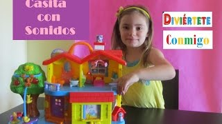 Casita de juguete con sonidos divertidos - Playhouse with funny sounds
