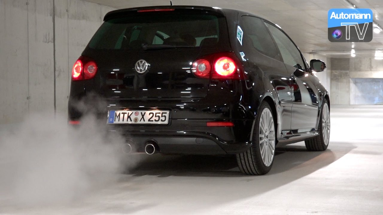 vw golf v r32 250hp pure sound 60fps youtube. Black Bedroom Furniture Sets. Home Design Ideas