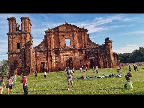 Missões Jesuítas no Brasil. São Miguel Arcanjo na cidade de São Miguel das Missões