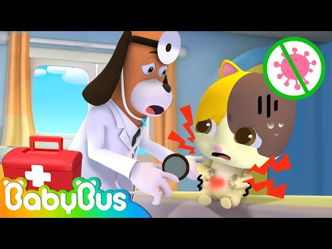 *NEW* Wash Your Hands Before Eating   Kids Cartoon   Animation for Kids   Doctor Cartoon   BabyBus