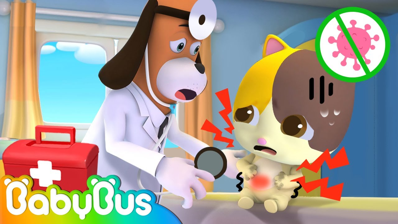 *NEW* Wash Your Hands Before Eating | Kids Cartoon | Animation for Kids | Doctor Cartoon | BabyBus