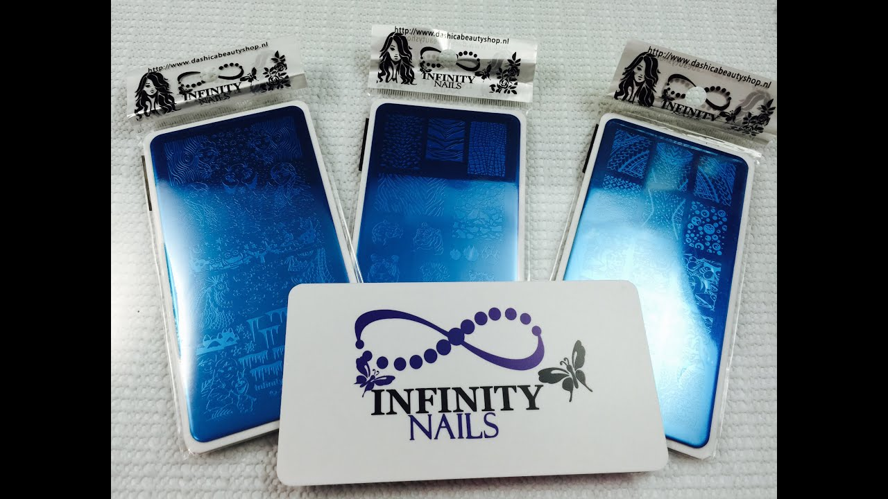 Infinity Nails Stamping Plates Review - YouTube
