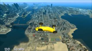 GTA IV Burj Khalifa Tower Jump - revisited