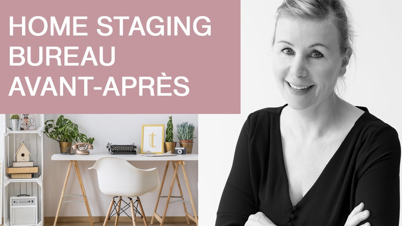 Home Staging Chambre Adulte home staging bureau avant apres