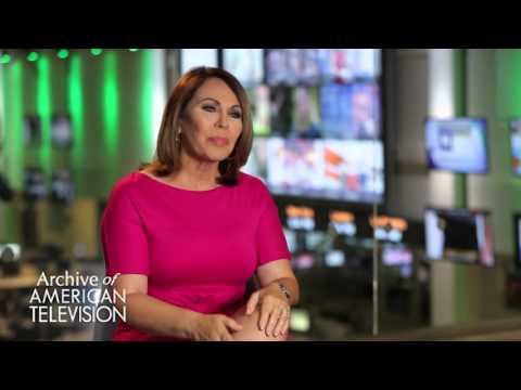 Maria Elena Salinas discusses interviewing the President of Guatemala - EMMYTVLEGENDS.ORG