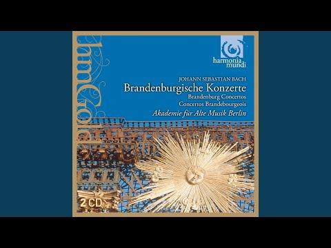 Concerto N°1 En Fa Majeur BWV 1046: IV. Menuet - Trio I - Polonaise - Trio II