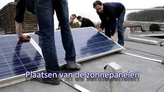 Zonnepanelen plaatsen door Wierts BV