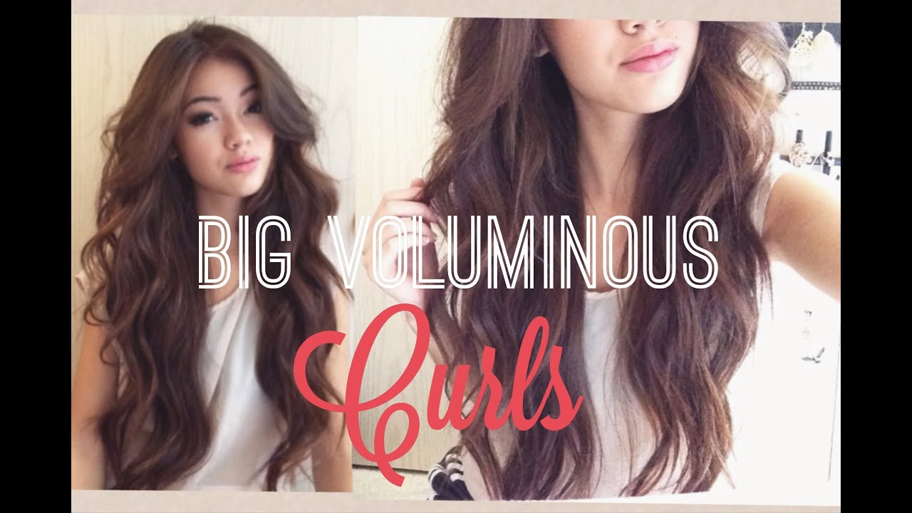 Voluminous Curls Youtube
