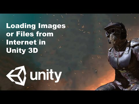 Unity tutorial : Loading Images or Files from Internet in Unity3D