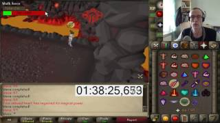 Woox: A world first - First ever Inferno Cape - Full TzKal-Zuk Kill on Stream