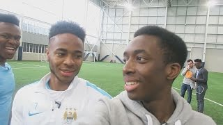BEHIND THE SCENES WITH RAHEEM STERLING AND JJ