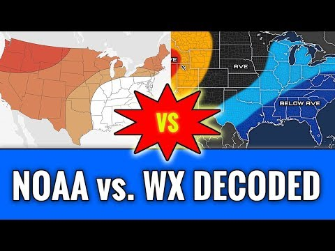 NOAA\'s 2018-19 U.S. Winter Forecast vs. Weather Decoded's