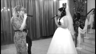 песня на свадьбе от сестренок свадьба Атаевых 20.09.2014