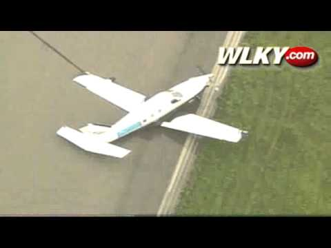 Raw Video: Plane Goes Off Runway At Clark County Airport
