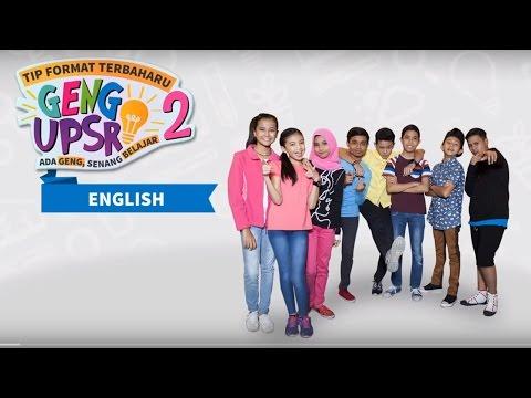 Tip Format Terbaharu Geng UPSR 2 English