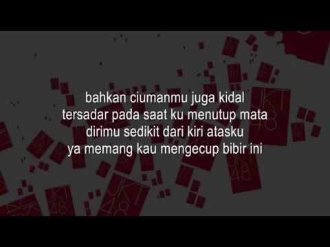 JKT48 - Kiss Datte Hidarikiki KARAOKE (Male Version)