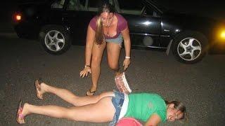 Смешные пьяные девушки прикольное видео