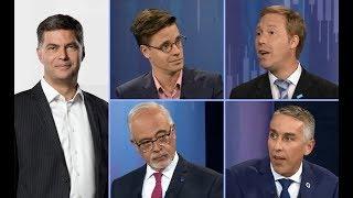 Débat économique 2018 - Simon Tremblay-Pepin, Youri Chassin, Nicolas Marceau, Carlos Leitao (LCN)