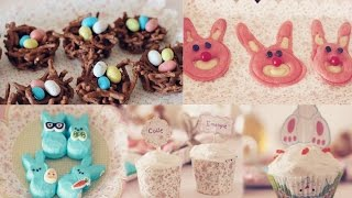 Easter Treats bunny pancakes, birds nest & more!