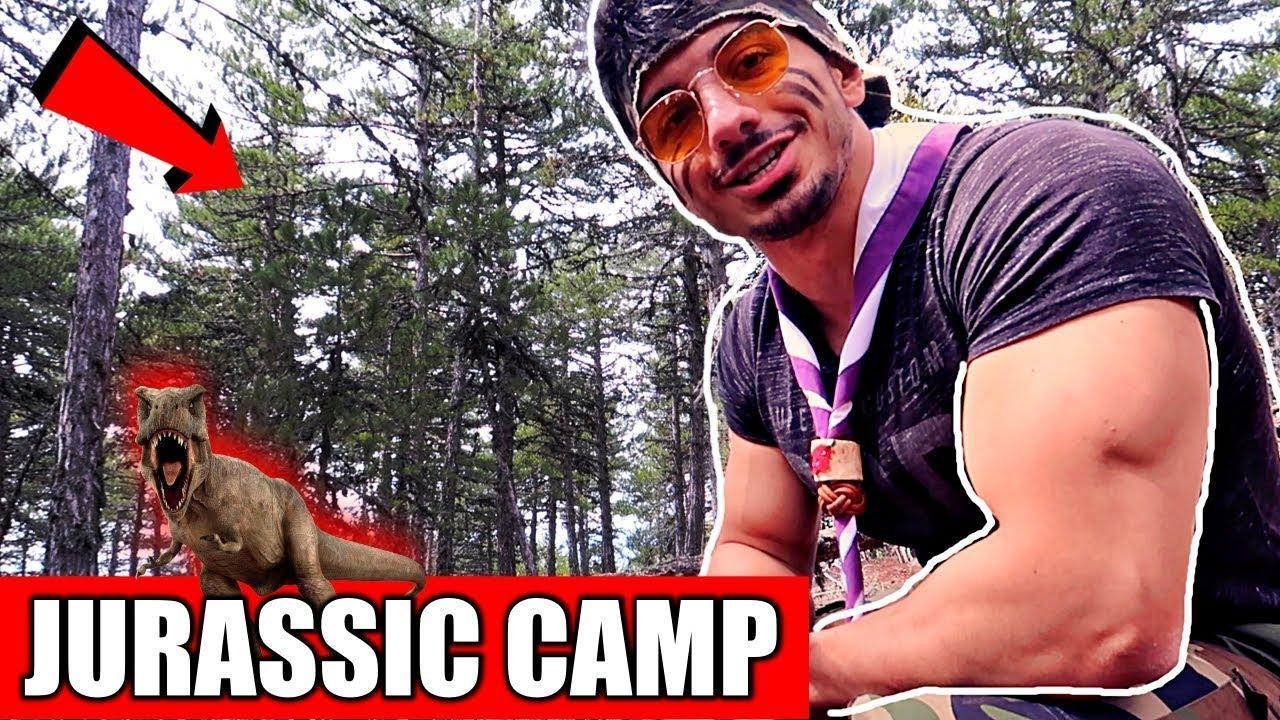 JURASSIC CAMP !! | Hayatta Kalma Bilgileri !