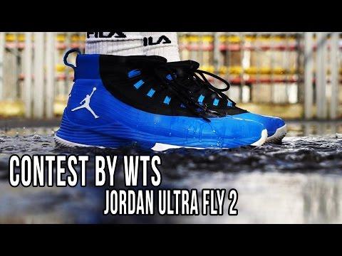 ВИДЕО ОБЗОР КРОССОВОК Jordan ULTRA FLY 2 - CONTEST by WTS #16