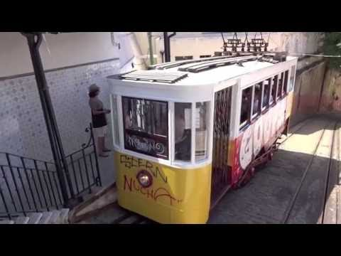 Lisbon Trams & Funiculars: 'Justa' another ride on a classic form of transport
