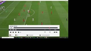 This is my swansea career mode, where i play locked to player and the ai controls rest of team. absolutely loved goal by callum hudson odoi...