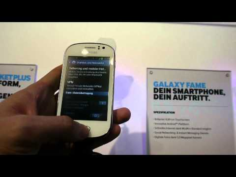 Samsung Galaxy Fame im Hands On [Deutsch]