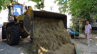 видео Детские площадки, песочницы