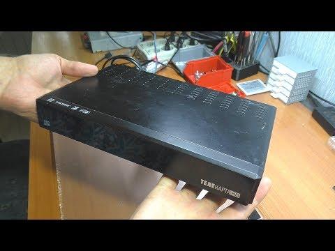 Не включается спутниковый ресивер Телекарта EVO 05 PVR / Ремонт БП