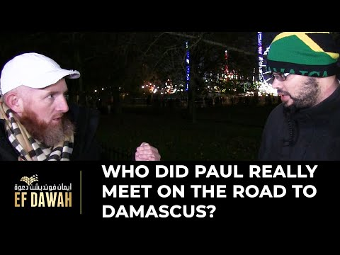 Who Did Paul Really Meet On The Road To Damascus?