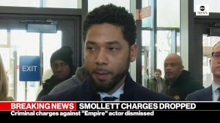 Jussie Smollett, attorney address media after emergency court appearance | ABC News