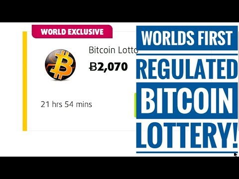 Play The Worlds FIRST Fully Regulated BITCOIN Lottery! 🤑 💲🤯