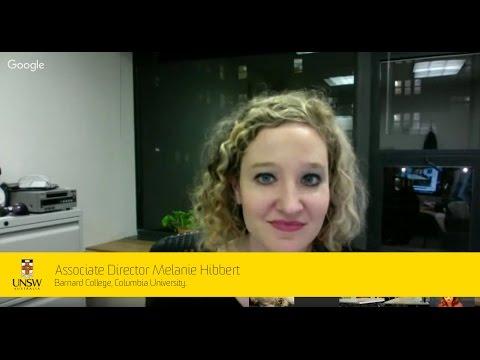 Virtual Seminar - Associate Director Melanie Hibbert