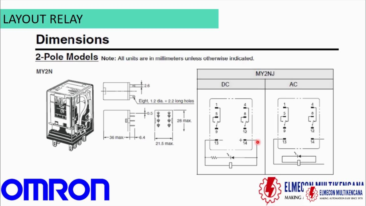 Wiring Diagram For Omron Relay My4n
