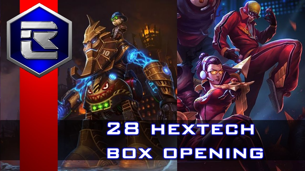 how to get hextech boxes