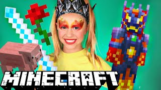 Daya Daily Gaming and Minecraft Makeup and Costume!