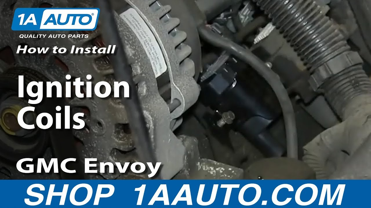 how to install replace ignition coils v8 5 3l gmc envoy and xl xuv [ 1280 x 720 Pixel ]