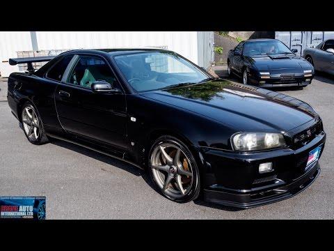 Walk Around   1999 Nissan Skyline R34 GTR V Spec   Japanese Car Auctions