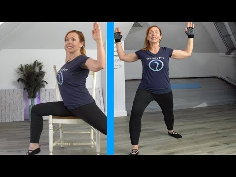 Who is Jesus? Holistic Stretching + Chair Workout (Part 1)