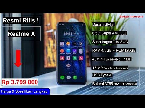 Resmi Rilis ! Inilah Harga Realme X di Indonesia dan Spesifikasinya.