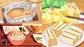 애니메이션 속 음식 모음 #3 : 애니 먹방 : 배고픔…