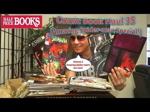 Half Price Books Comic Book Haul 35 (Amazing Spider-man Special!)
