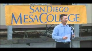 San Diego Mesa College Math+Science Complex Topping Off Ceremony