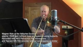 Bremner Sshhmute Trombone Practice Mute Demo