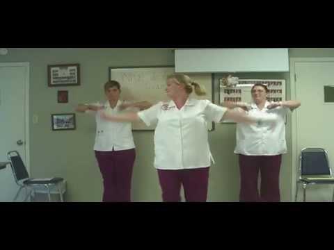 Dancing Nursing Students EKG Heart Block