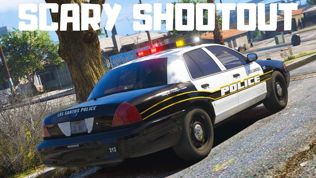 GTA 5 Roleplay - Shots Fired, Take Cover | DOJRP #64