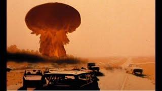 World's First Nuclear ICBM Atomic Missile 1956 Soviet Rocket Nuke Test Digitally Restored